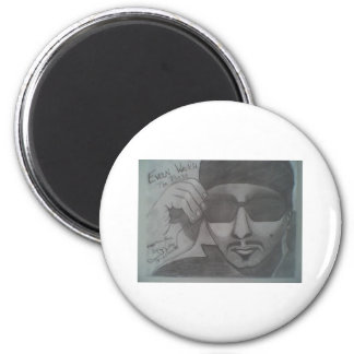 Evan Marsh the product 4 portrait 2 Inch Round Magnet