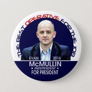 Evan McMullin 2016 Pinback Button