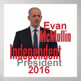 Evan McMULLIN 2016 Print