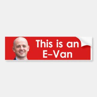 Evan McMullin - Evan Pegatina Para Auto