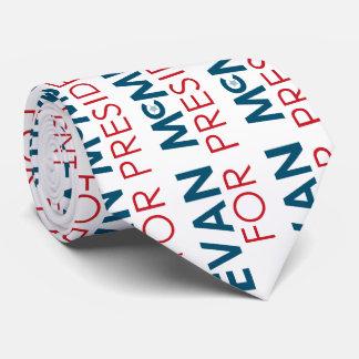 Evan McMullin for President Neck Tie
