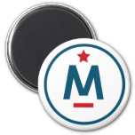 Evan McMullin - It's never too late 2 Inch Round Magnet