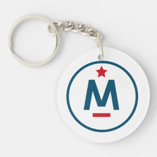 Evan McMullin - It's never too late Keychain