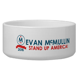 Evan McMullin - Stand up America! Bowl