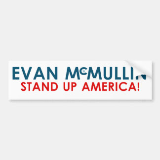 Evan McMullin - Stand up America! Bumper Sticker