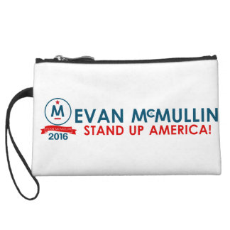 Evan McMullin - Stand up America! Wristlet Wallet