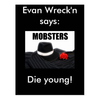 Evan Wreck'n Marsh Postcard