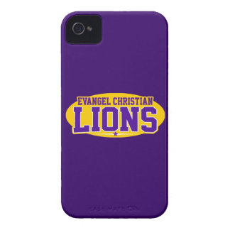 Evangel Christian Academy; Lions iPhone 4 Case-Mate Cases