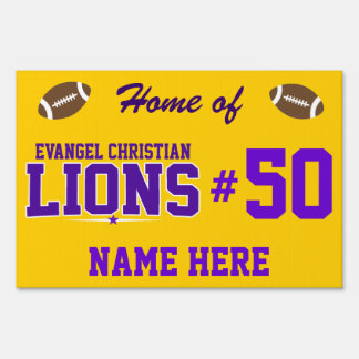 Evangel Christian Academy; Lions Sign