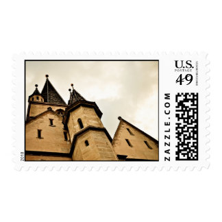 Evangelic church tower, Sibiu Postage