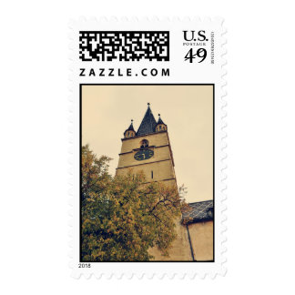 Evangelical church tower, Sibiu Postage Stamp