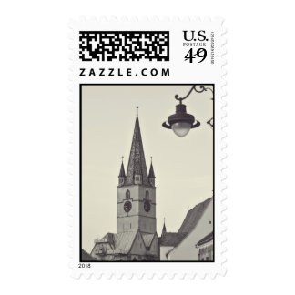 Evangelical church tower, Sibiu Postage Stamps