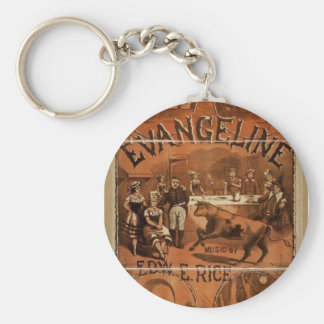 Evangeline, 'Rice and Goodwin's', Boston Job Print Keychains