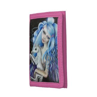 Evangeline y cartera del nilón del lirio