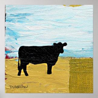 Evangelio de la vaca posters