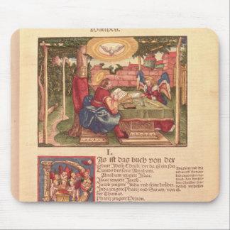 Evangelio de St Matthew, libro I Alfombrillas De Ratón
