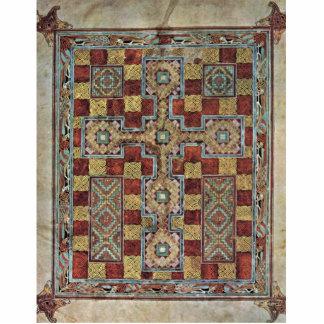 Evangelios de Lindisfarne de la escena: Página de Fotoescultura Vertical