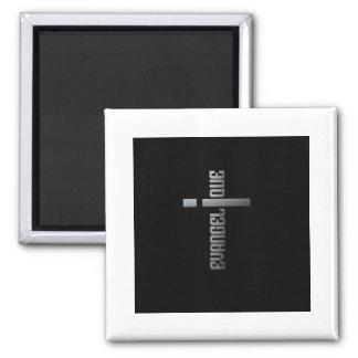 Evangélique black édition 2 inch square magnet