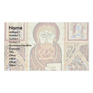 Evangelist And Symbols By Irischer Meister (Best Q Business Cards