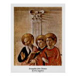 Evangelist John Thomas By Fra Angelico Posters