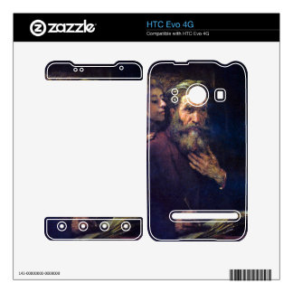 Evangelist Mathew and the Angel by Rembrandt Skins For The HTC Evo 4G