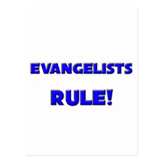 Evangelists Rule! Postcard