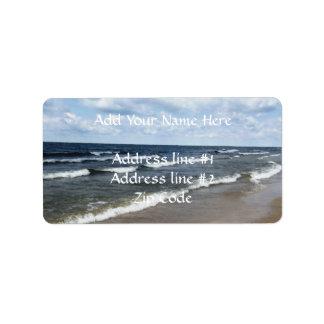 Evangola State Park - Lake Erie Address Label