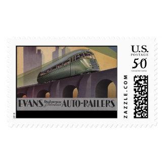 Evans Auto Railers 1930's Postage