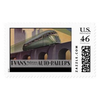 Evans Auto Railers 1930's Stamps