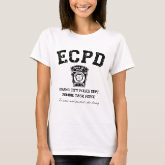 Evans City Police Department Zombie Task Force T-Shirt