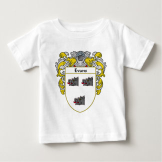 Evans Coat of Arms Ireland (Mantled) Baby T-Shirt