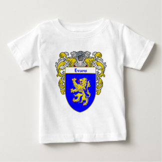 Evans Coat of Arms Wales (Mantled) Baby T-Shirt