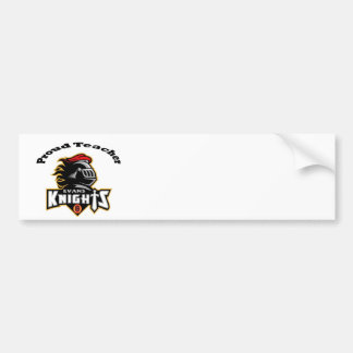 Evans Elementary Proud Teacher Bumper Sticker