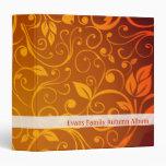 Evans Family Autumn Album - Binder
