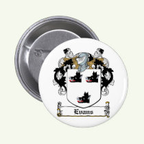 Evans Family Crest Button
