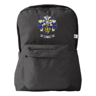 Evans Family Crest Coat of Arms Backpack