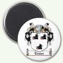 Evans Family Crest Magnet