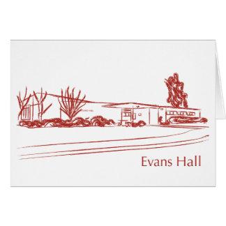 Evans Hall Card