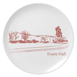 Evans Pasillo Platos De Comidas
