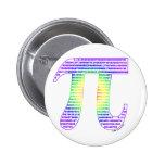 Evan's Pi #1 Button Pinback Buttons
