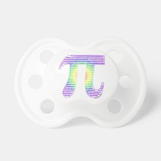 Evan's Pi #1 Pacifier
