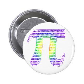 Evan's Pi #1 Pinback Button