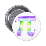 Evan's Pi #1 Pinback Buttons