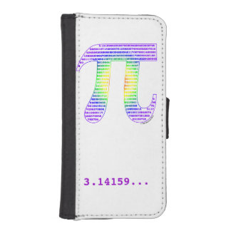 Evan's Pi #1 Wallet Phone Case For iPhone SE/5/5s