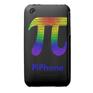 Evan's Pi #2 iPhone 3 Case-Mate Case