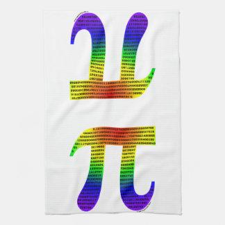 Evan's Pi #2 Hand Towels