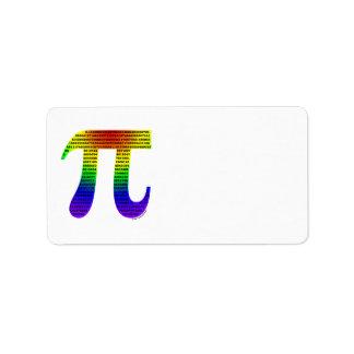Evan's Pi #2 Label