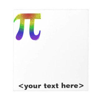 Evan's Pi #2 Memo Note Pad