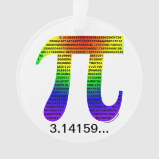 Evan's Pi #2 Ornament
