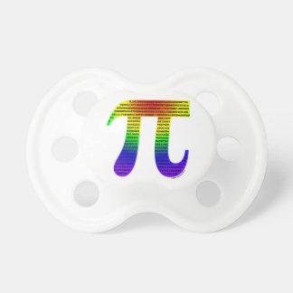 Evan's Pi #2 Pacifier
